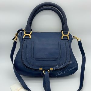 Chloe Marcie leather handbag in small calfskin